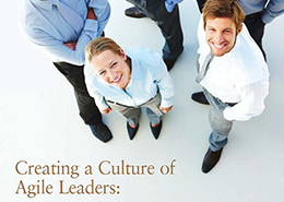 Creating a Culture of Agile Leaders white paper