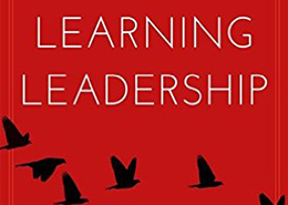 Learning Leadership book